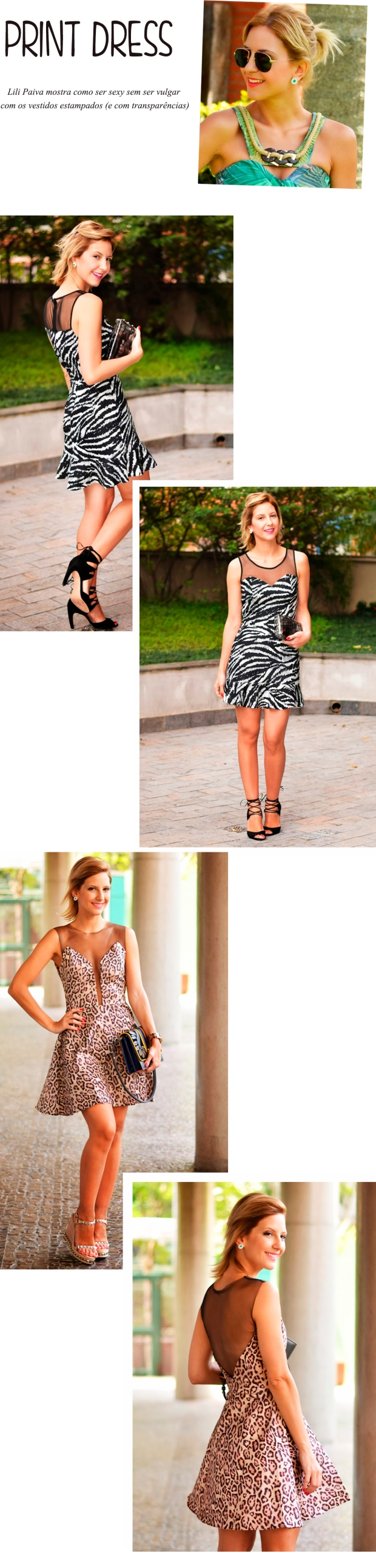dress print lili