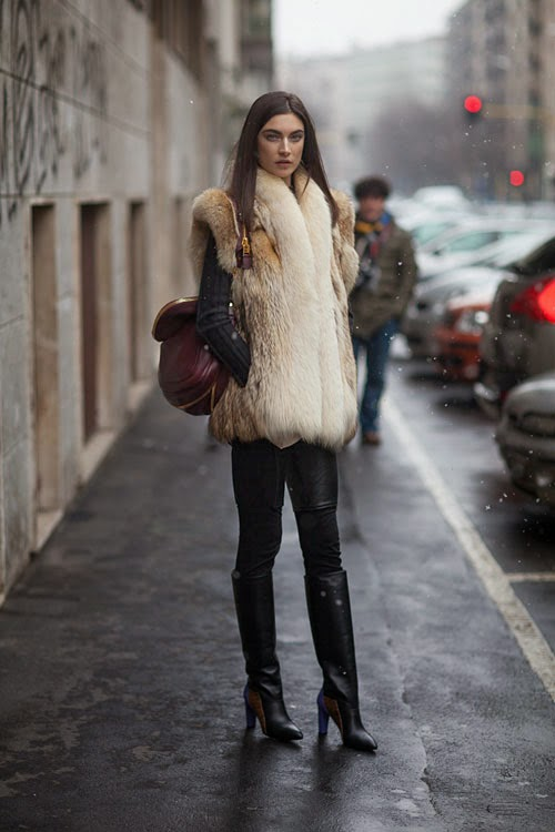 la-modella-mafia-Fall-2013-fashion-week-street-style-models-off-duty-in-fur-Jacquelyn-Jablonski-via-hbz